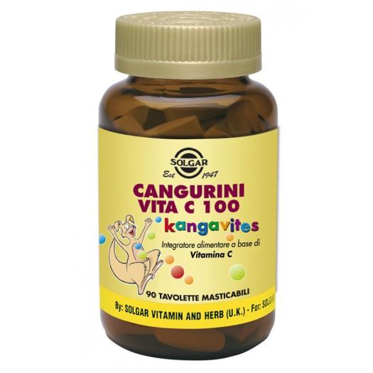 CANGURINI VITA C 100 masticabile