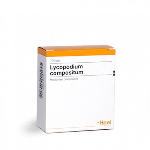 LYCOPODIUM COMP 10FIALE 2,2ML HEEL