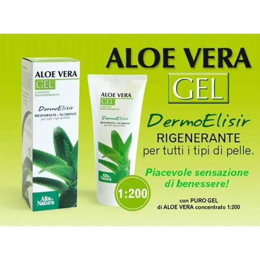 Aloe Vera Gel Dermo-Elisir Gel lenitivo, tonificante e restitutivo