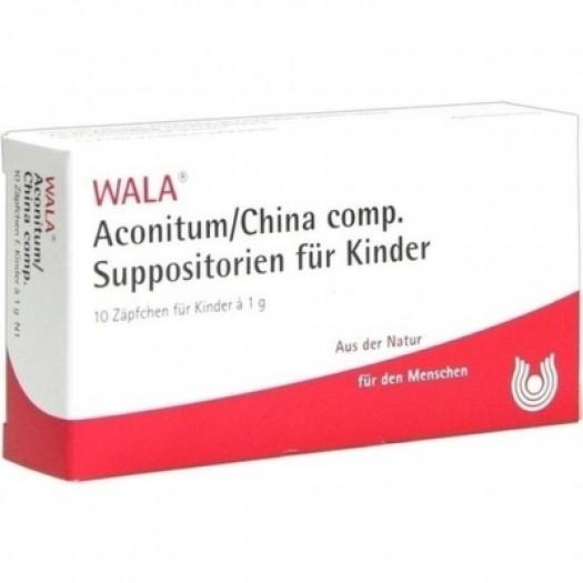 ACONITUM/CHINA Comp. Supposte - Wala