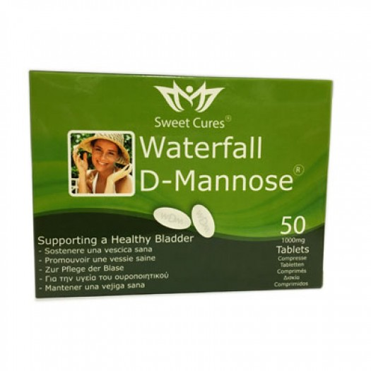 D-Mannosio Waterfall - 50 Tablets - 1000mg
