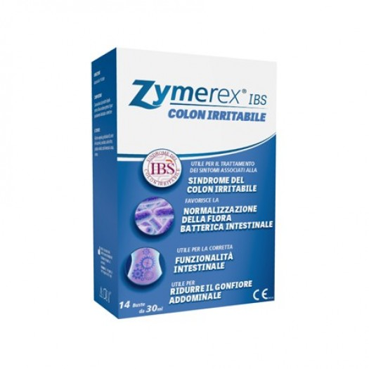 Zymerex IBS 14 Bustine Colon Irritabile