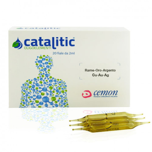 Catalitic Rame-Oro-Argento 20 Fiale| Oligoelemento Cemon