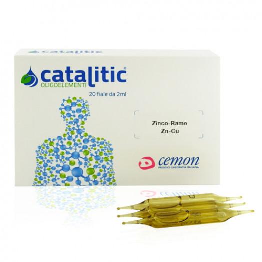 Catalitic Zinco-Rame 20 Fiale|Oligoelemento Cemon