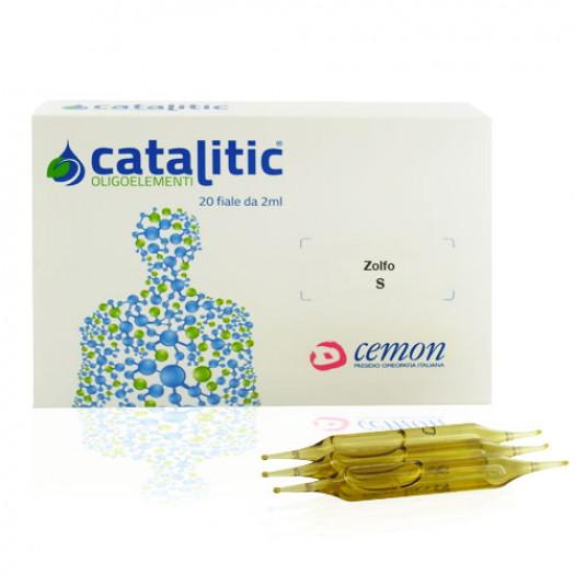 Catalitic Zolfo 20 Fiale|Oligoelemento Cemon