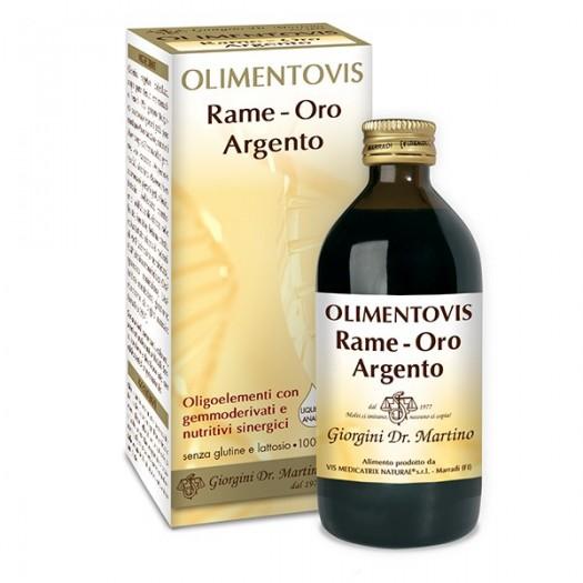 OLIMENTOVIS Rame-Oro-Argento 200ml Dr Giorgini