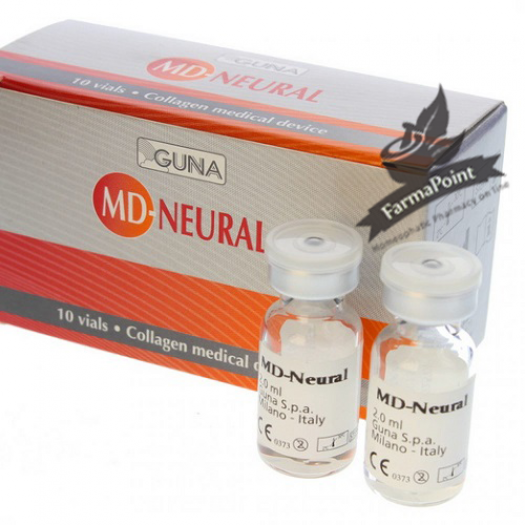 MD Neural 10 Fiale 2 ml Guna - Neuralterapia