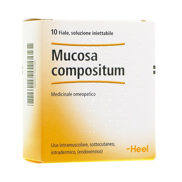 Mucosa Compositum 10FIALE HEEL