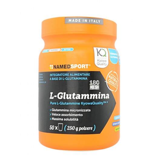 L-Glutammina integratore in polvere 250g Named