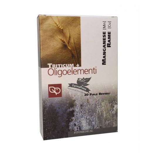 Oligoelemento Fiale Manganese, Rame Fitomedical