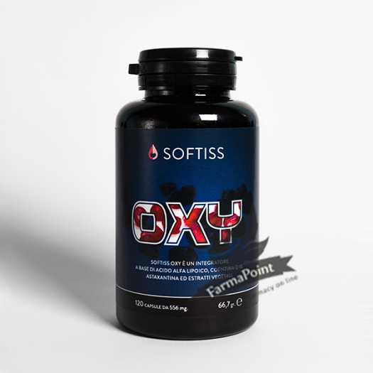 SOFTISS OXY Nutricosmetica Flacone 120 capsule