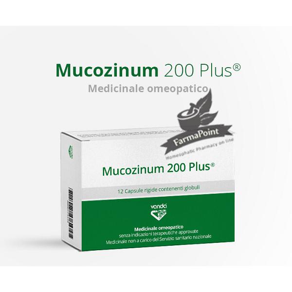 Mucozinum 200 Plus CAPSULE