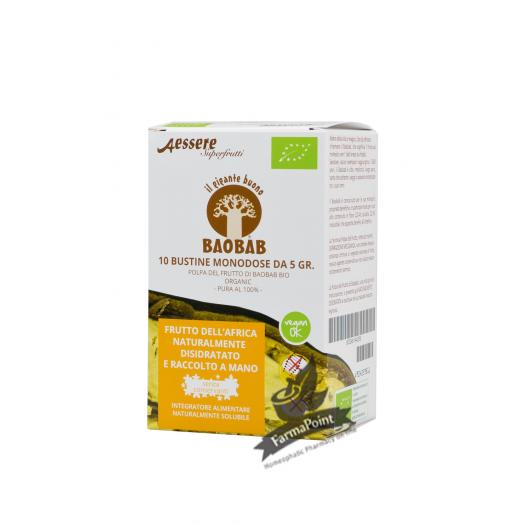 Baobab 10 buste monodose 5 gr – Integratore Alimentare
