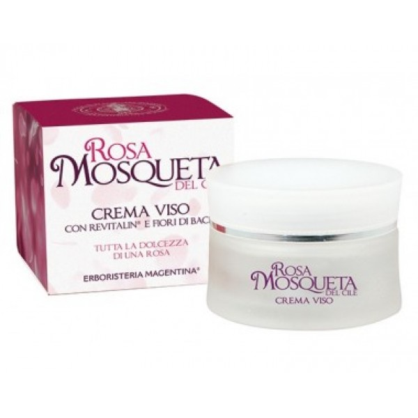 Olio Puro Rosa Mosqueta Bio 30ml + Crema Viso Rosa Mosqueta al Revitalin In Offerta 25%