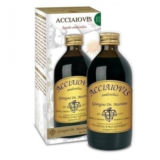 ACCIAIOVIS 200 ml liquido analcoolico
