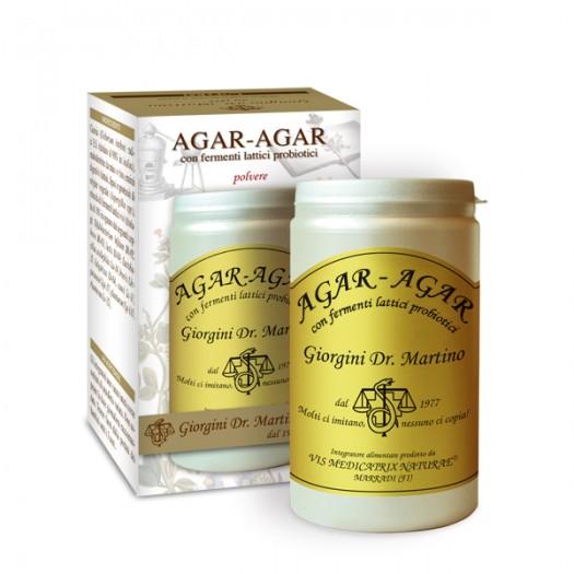 AGAR-AGAR CON FERMENTI LATTICI 150 g polvere