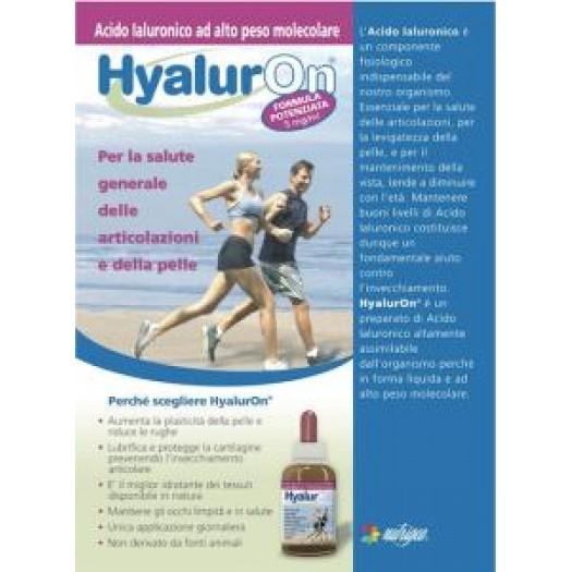 HyalurOn®  Acido Ialuronico ad assunzione orale