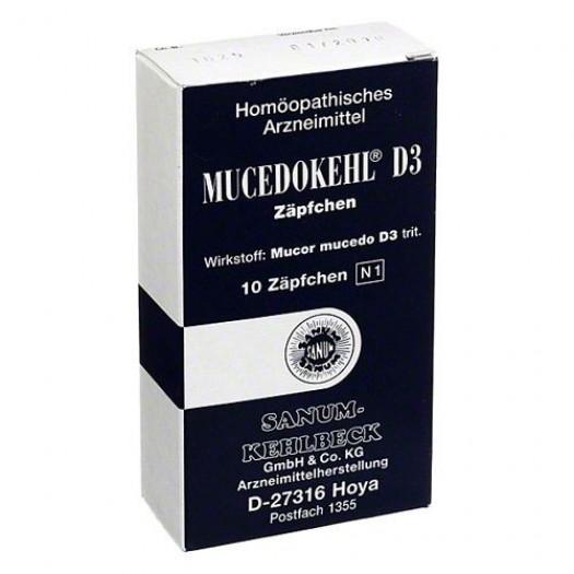 MUCEDOKEHL D3 10 SUPPOSTE