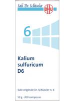 Kalium sulfuricum (Solfato di potassio)