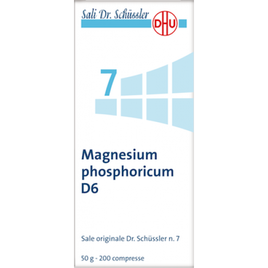 Magnesium phosphoricum (Fosfato acido di magnesio)