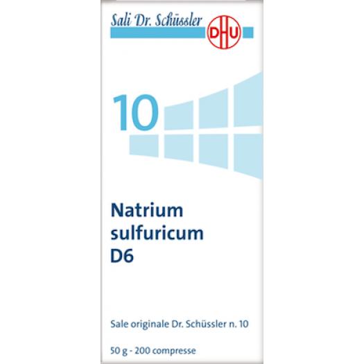 Natrium sulfuricum (Solfato di sodio)