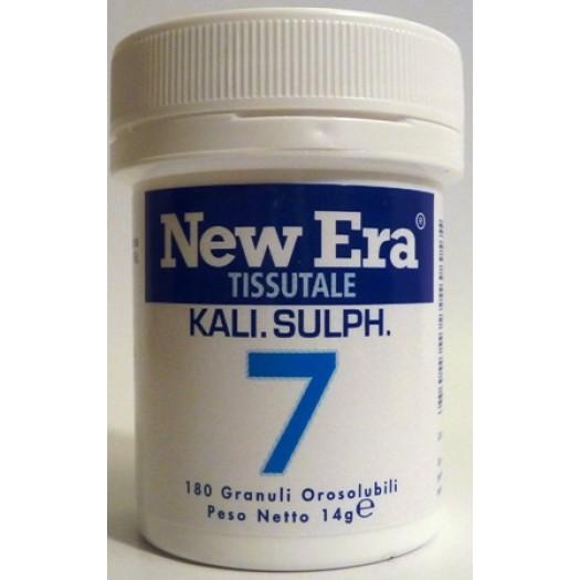 NEW ERA - N. 7 – Kalium sulfuricum