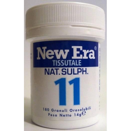 NEW ERA - N. 11 – Natrum sulfuricum