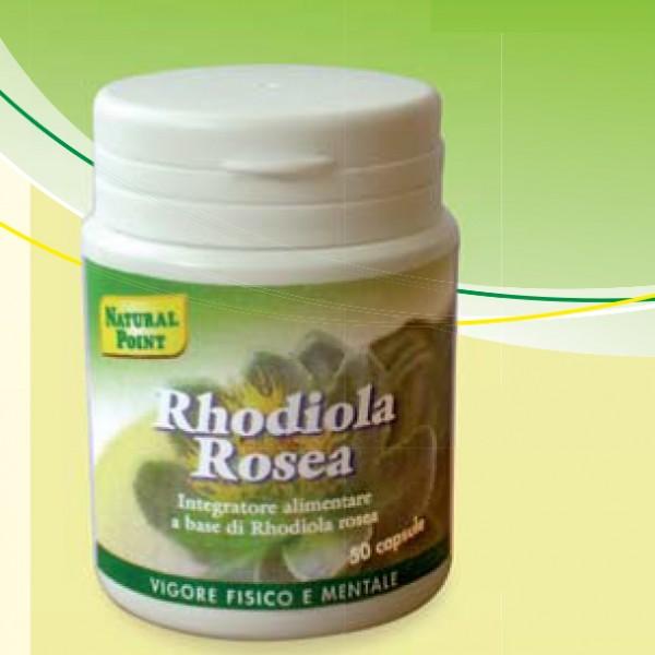 naturalpoint integratori  Rhodiola Rosea 50 capsule - 500mg | Natural Point