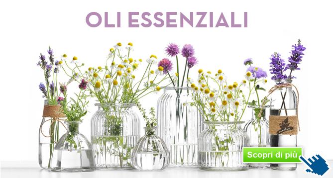 Aromaterapia Proprietà degli Oli Essenziali